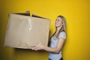 a woman wishing she could order packing services