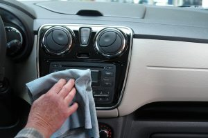 Cleaning of car interior