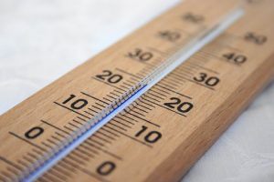 termometar for measuring the temperature in furniture storage solutions