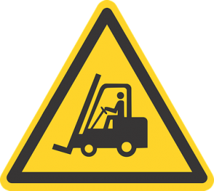 moving fork lift