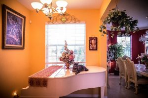 cheap home renovation ideas include emphasizing your piano if you have one.