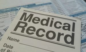 Part of your relocation paperwork should be medical records