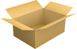 A box, you will need many when you pack fine china and kitchenware for storage
