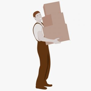 Your movers can help you with organizing your new house