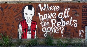 Where have all the rebels gone grafitti