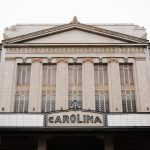 Carolina written on a theater entrance