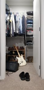 Converting your walk-in closet is one of the best solutions for setting up an office in your apartment