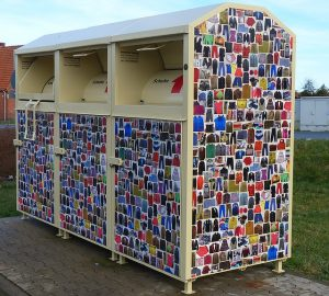 Recycle bin when you can't reuse packing and moving supplies