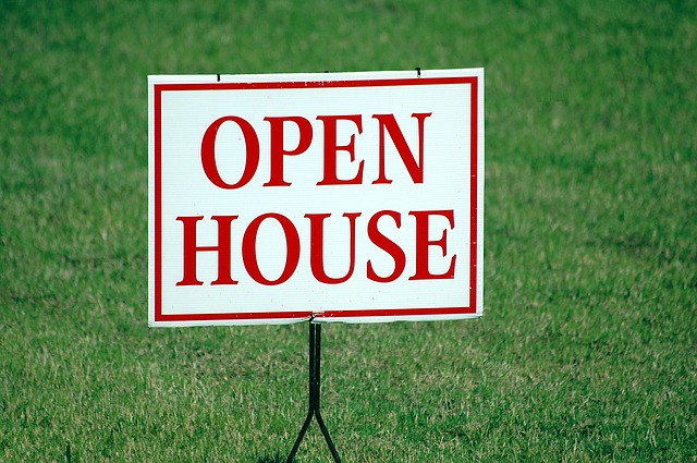 you will see open house signs when buying a home in Apex NC