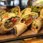 Wraps prepared as moving day meals