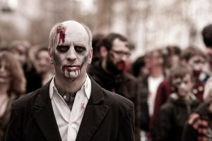 Picture of a zombie