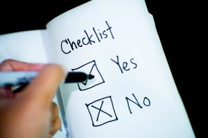 With a good moving checklist, you won't have a lot to worry about