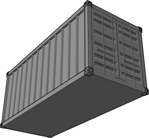 moving container illustration